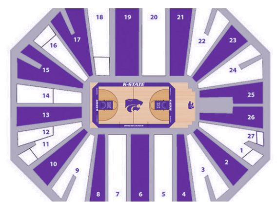 K state alumni association k state basketball pack the house