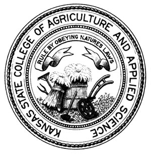 Kansas State College of Agriculture and Applied Science seal