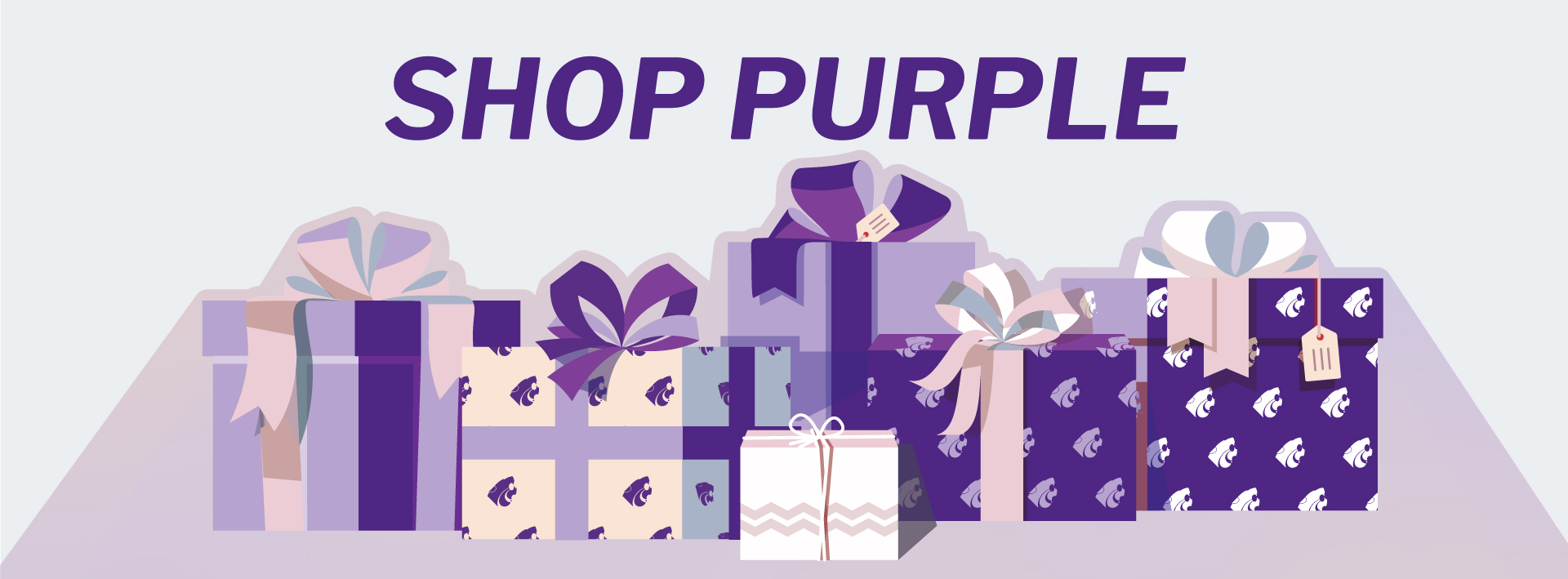 Shop purple for the holidays