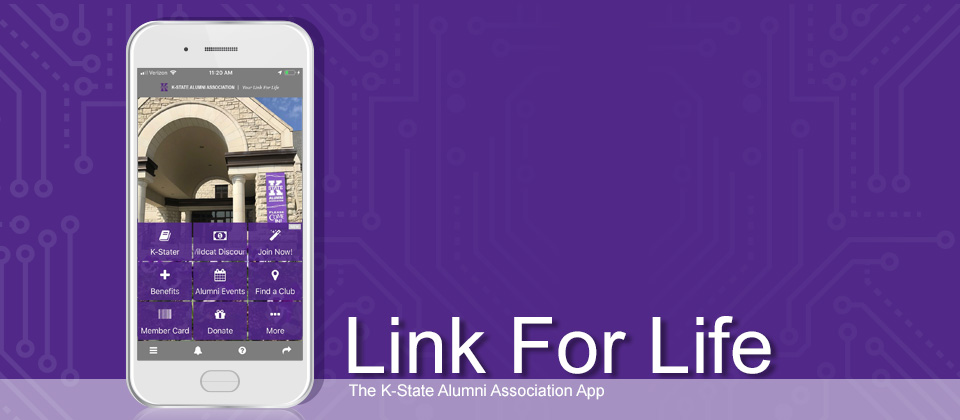 3 reasons why you should use the K-State Alumni Link for Life app