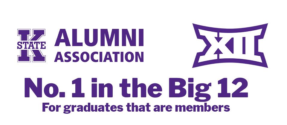 K-State Alumni Association is No. 1 in Big 12 for membership yet again