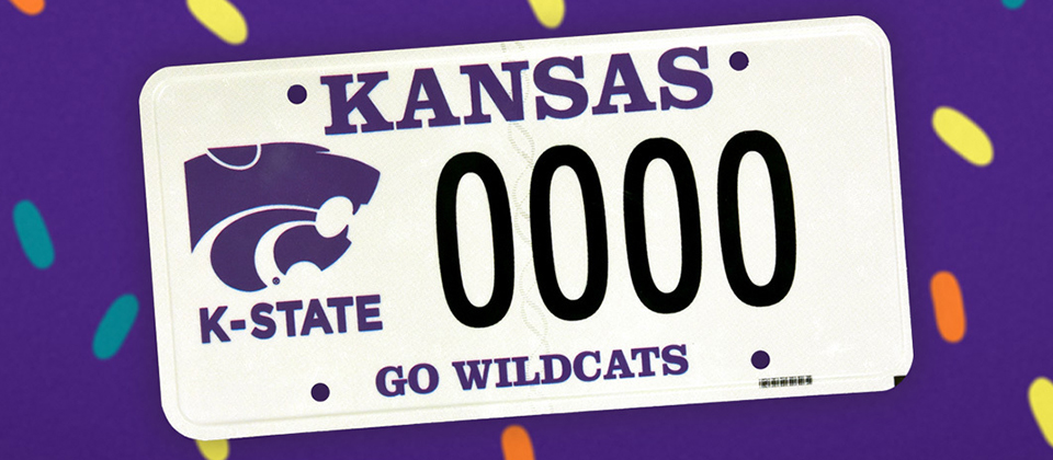 K-State License Plate Program reaches $5 million for student scholarships and recognition