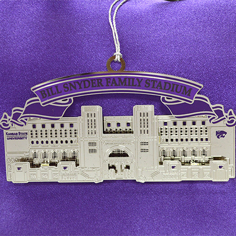 Bill Snyder Family Stadium Ornament