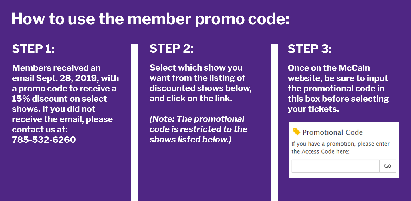 How to use the promo code