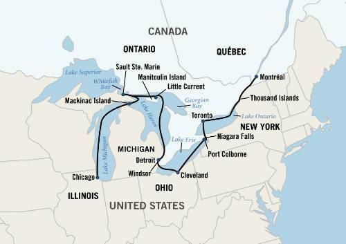 north american waterway s