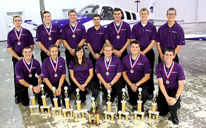Flight team advances to nationals