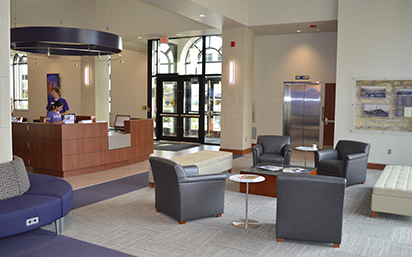 New Welcome Center lobby