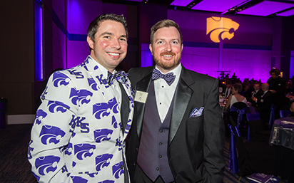K-State purple attire